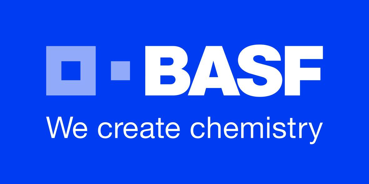 BASF donkerblauw We create chemistry